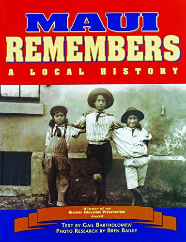 9781566470698: Maui Remembers: A Local History