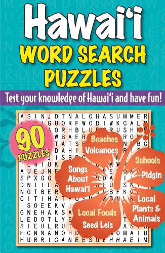 9781566479387: Hawaii Word Search Puzzles