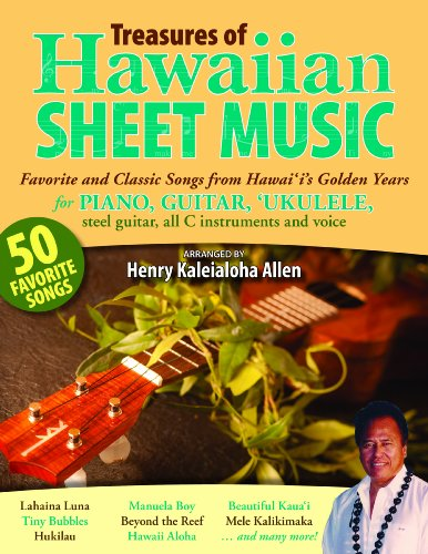 9781566479943: Treasures of Hawaiian Sheet Music: Favorite and Classic Songs from Hawaii's Golden Years