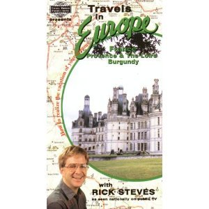 9781566480031: Travels in Europe.France:Provence & The Loire, Burgundy with Rick Steves