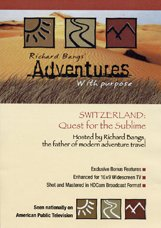 9781566481786: Switzerland: Quest for the Sublime DVD -- Richard Bangs' Adventures with Purpose