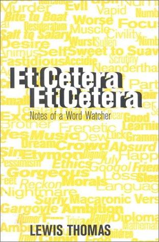 9781566491662: Et Cetera, Et Cetera: Notes of a Word-Watcher