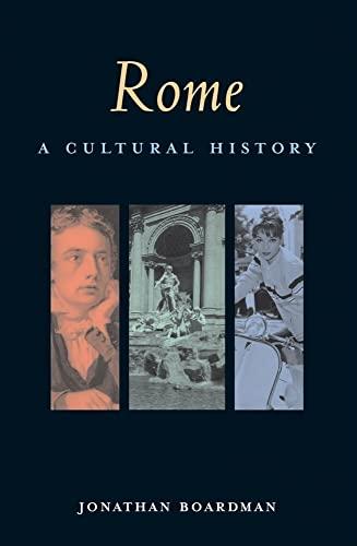 9781566567114: Rome: A Cultural History (Cultural Histories)