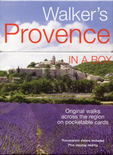 9781566568975: Walker's Provence in a Box (In a Box Walking & Cycling Guides) (Walker's In A Box)