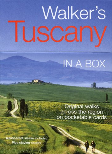 9781566568982: Walker's Tuscany in a Box (In a Box Walking & Cycling Guides)