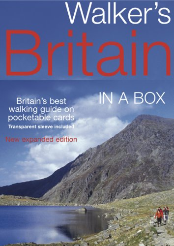 9781566568999: Walkers Britain in a Box: The Region's Best Walks on Pocketable Cards