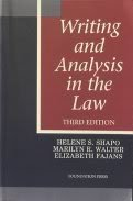 9781566622448: Writing and Analysis in the Law
