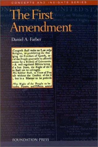 9781566626118: 1st Amendment (Concepts & Insights)