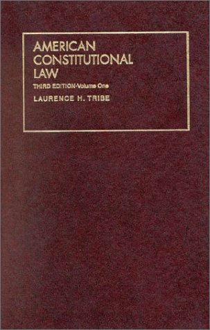 9781566627146: 1: American Constitutional Law (University Treatise Series)
