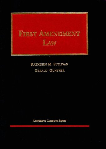 9781566627399: First Amendment (University Casebook Series)