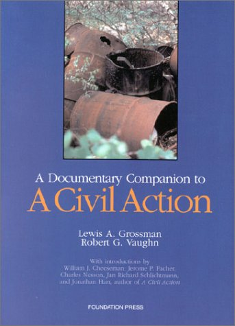 9781566627825: A Documentary Companion to a Civil Action: Wi Notes, Comments, and Questions