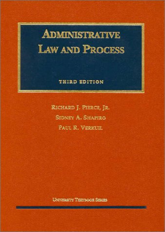 9781566627887: Administrative Law and Process (University Textbook Series)