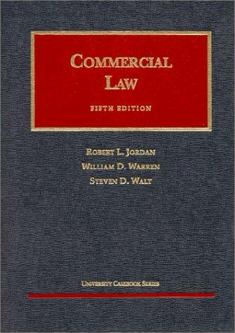 Commercial Law: William D. Warren;