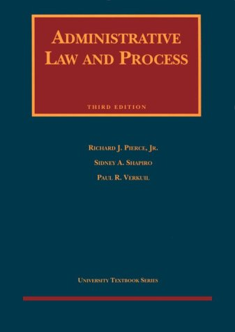 9781566628099: Administrative Law and Process University Textbook Series (Retailing Smarts)