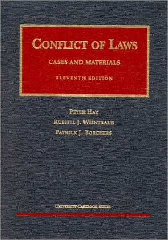 9781566628150: Conflict of Laws: Cases and Materials (University Casebook)