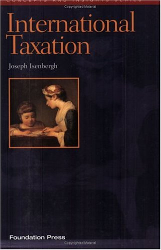 9781566628709: International Taxation (Concepts and Insights Series)