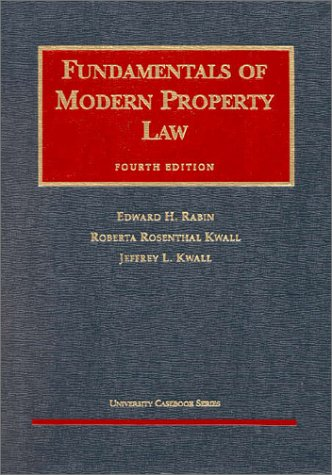 9781566629423: Fundamentals of Modern Property Law (University Casebook Series)