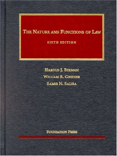 9781566629676: The Nature and Functions of Law