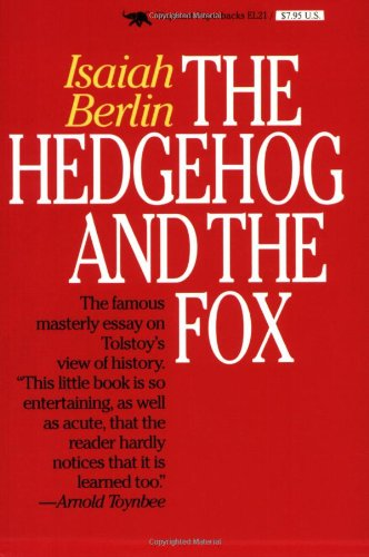 9781566630191: The Hedgehog and the Fox: An Essay on Tolstoy's View of History