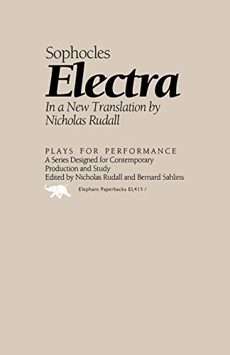 9781566630221: Electra (Plays for Performance Series)
