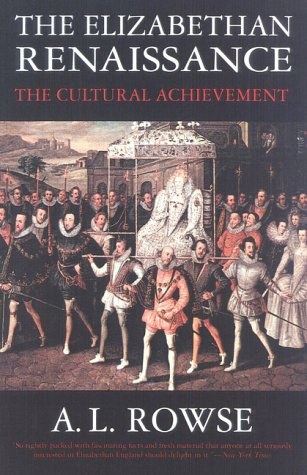 9781566633161: The Elizabethan Renaissance: The Cultural Achievement
