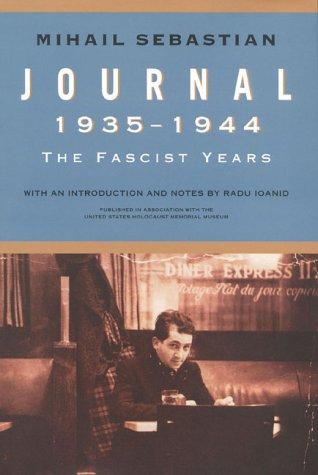 9781566633260: Journal 1935–1944: The Fascist Years