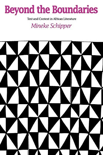 9781566635158: Beyond the Boundaries: Text and Context in African Literature