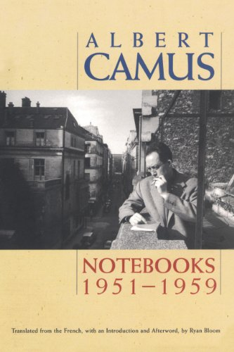 Notebooks 1951-1959: Camus, Albert