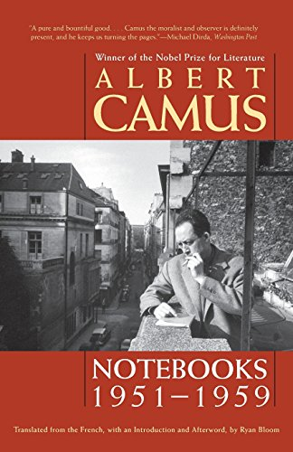 Notebooks, 1951-1959 (Volume 3): Camus, Albert