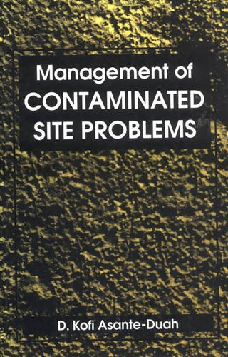 Management of Contaminated Site Problems: Kofi Asante-Duah