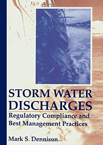 9781566701983: Storm Water Discharges: Regulatory Compliance and Best Management Practices