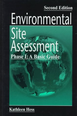 9781566702713: Environmental Site Assessment Phase I: A Basic Guide, Second Edition