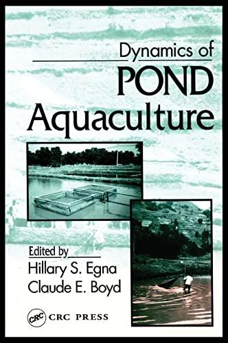 Dynamics of Pond Aquaculture: Claude E. Boyd