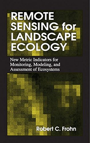 9781566702751: Remote Sensing for Landscape Ecology: New Metric Indicators for Monitoring, Modeling, and Assessment of Ecosystems (Mapping Science)