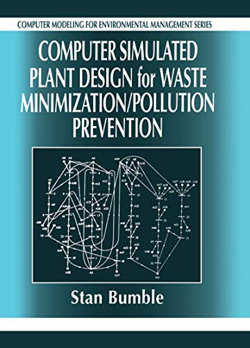 9781566703529: Computer Simulated Plant Design for Waste Minimization/Pollution Prevention (Computer Modeling for Environmental Management)