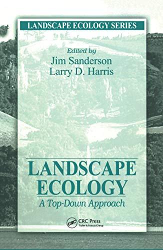 9781566703680: Landscape Ecology: A Top Down Approach (Landscape Ecology Series)