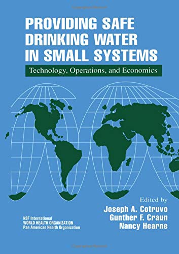 9781566703932: Providing Safe Drinking Water in Small Systems: Technology, Operations, and Economics