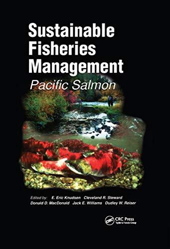Sustainable Fisheries Management: Pacific Salmon: Donald McDonald