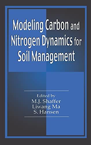 9781566705295: Modeling Carbon and Nitrogen Dynamics for Soil Management