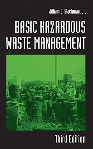 9781566705332: Basic Hazardous Waste Management, Third Edition