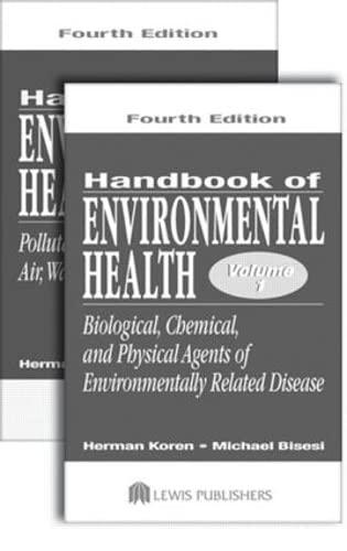 9781566705486: Handbook of Environmental Health, Two Volume Set: v. 1 & 2
