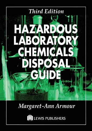 9781566705677: Hazardous Laboratory Chemicals Disposal Guide, Third Edition
