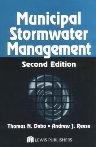 9781566705844: Municipal Stormwater Management, Second Edition