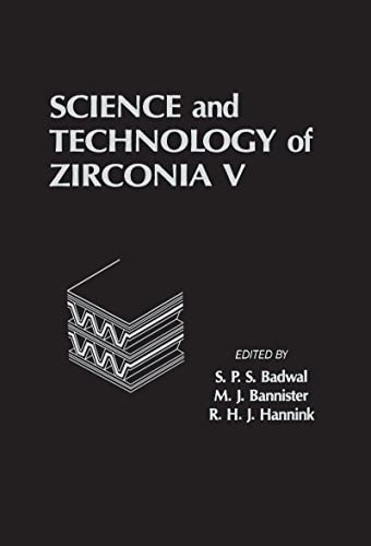 9781566760737: Science and Technology of Zirconia V