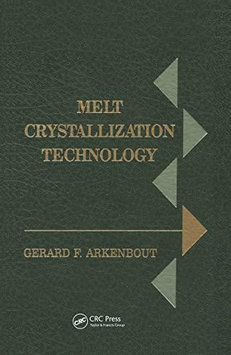 Melt Crystallization Technology: Tine Arkenbout-de Vroome