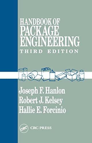Handbook of Package Engineering, Third Edition: Joseph F. Hanlon,