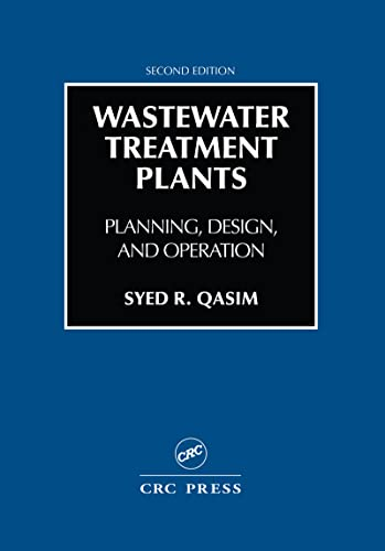 9781566766883: Wastewater Treatment Plants: Planning, Design, and Operation, Second Edition