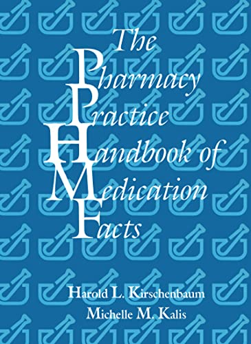 9781566767620: The Pharmacy Practice Handbook of Medication Facts