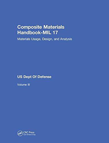 9781566768283: Composite Materials Handbook-MIL 17, Volume III: Materials Usage, Design, and Analysis