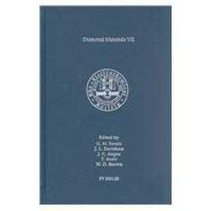 Diamond Materials VII: Proceedings of the International: G. M. Swain,